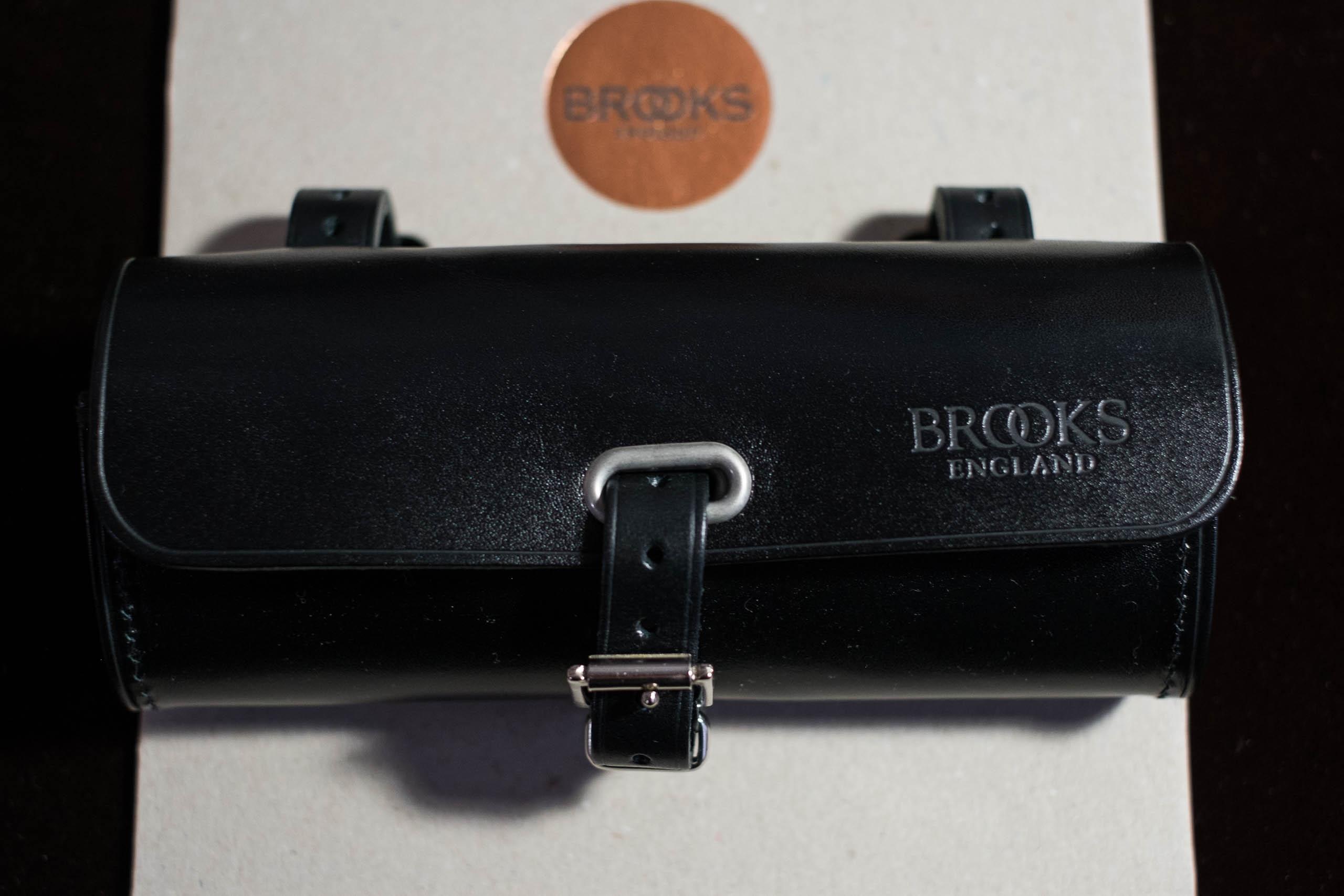 Brooks Challenge Satteltasche Apfelgr/ün
