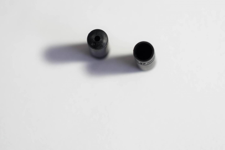 10x Shimano Endkappen Kunststoff für 4 mm Ø Schaltzugaußenhülle SP40