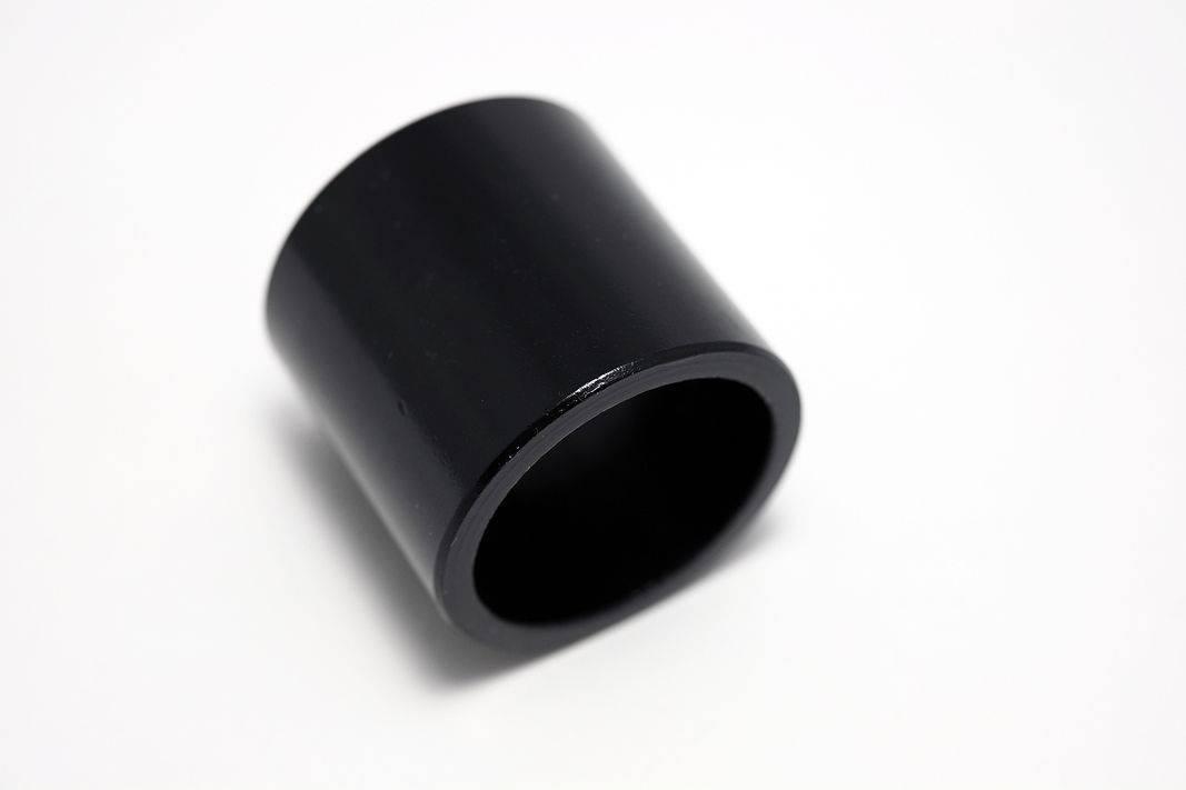 1 Zoll 25,4 mm Aluminium Spacer für klassische Steuersätze 2, 5, 10,15, 20mm in silber-schwarz