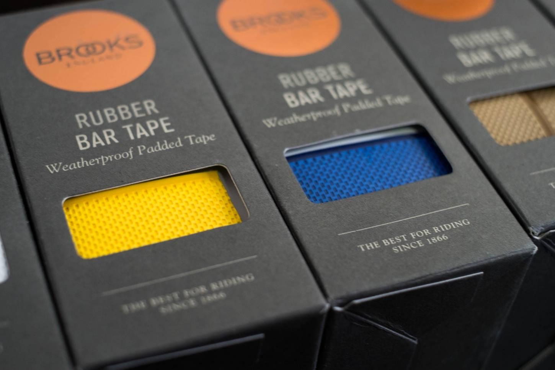 Brooks Cambium Lenkerband Rubber Bar Tape Kautschuk in black + natural + white + red + yellow + blue