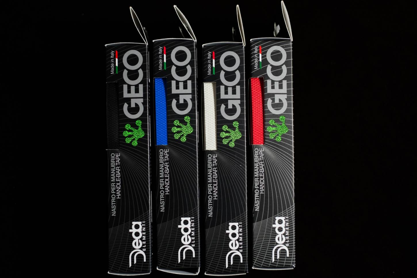 Deda Geco Pure Rubber - Handlebar Tape 100% rubber bar tape in 4 colours Perfect Grip