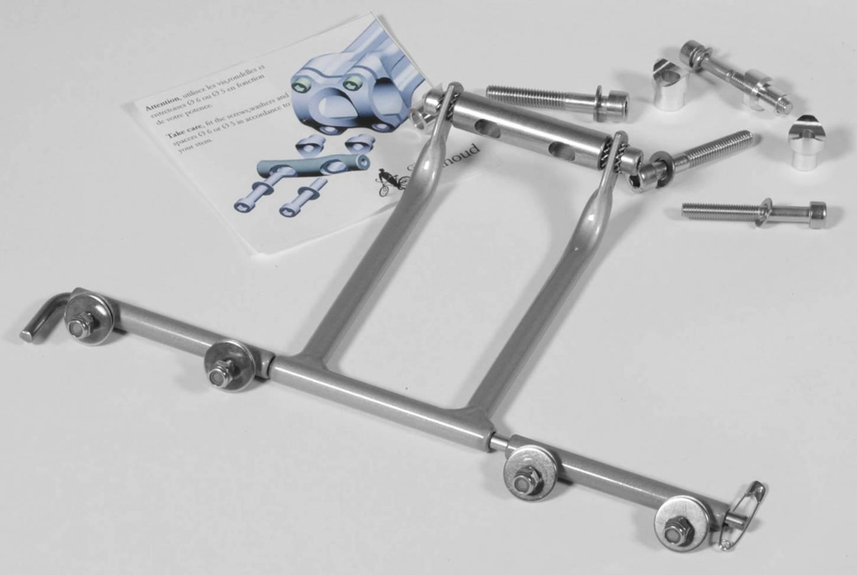 Gilles Berthoud Decaleur für Ahead Vorbau 50 mm AH50 VR Taschenhalter Front Bag