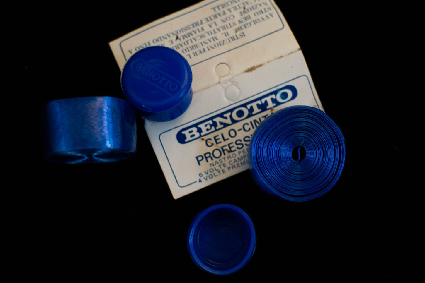 NOS Benotto Professionale Celo Vintage Lenkerband Handlebar Tape in gelb, rot oder blau