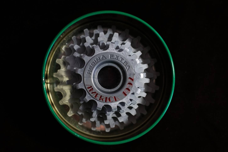 NOS 7 compartment Regina Extra America 1992 Freewheel screw ring 13-14-15-17-19-21-23
