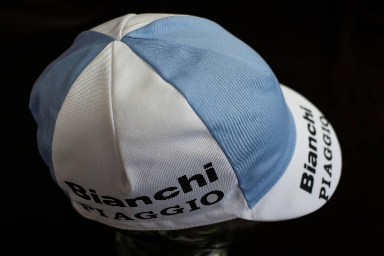 """Berretto Bianchi Piaggio """"Cycling Cap"""" berretto da ciclista a punta di cappello da ciclista"""