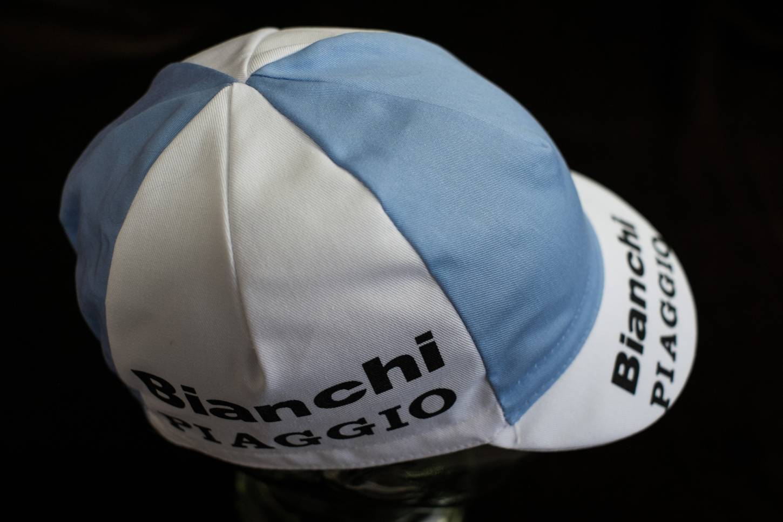"Bianchi Piaggio Kappe ""Cycling Cap"" Schirmmütze Radlermütze"