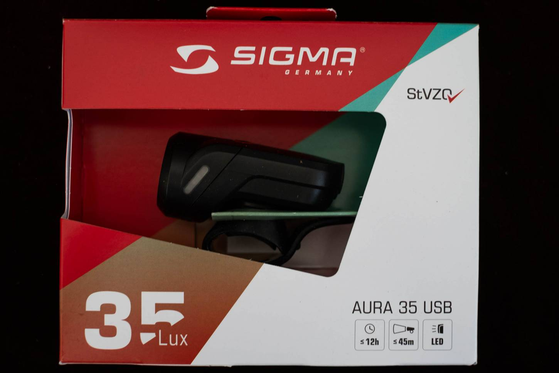 Sigma Aura 35, 45 oder 80 Fahrradlampe USB StVZO