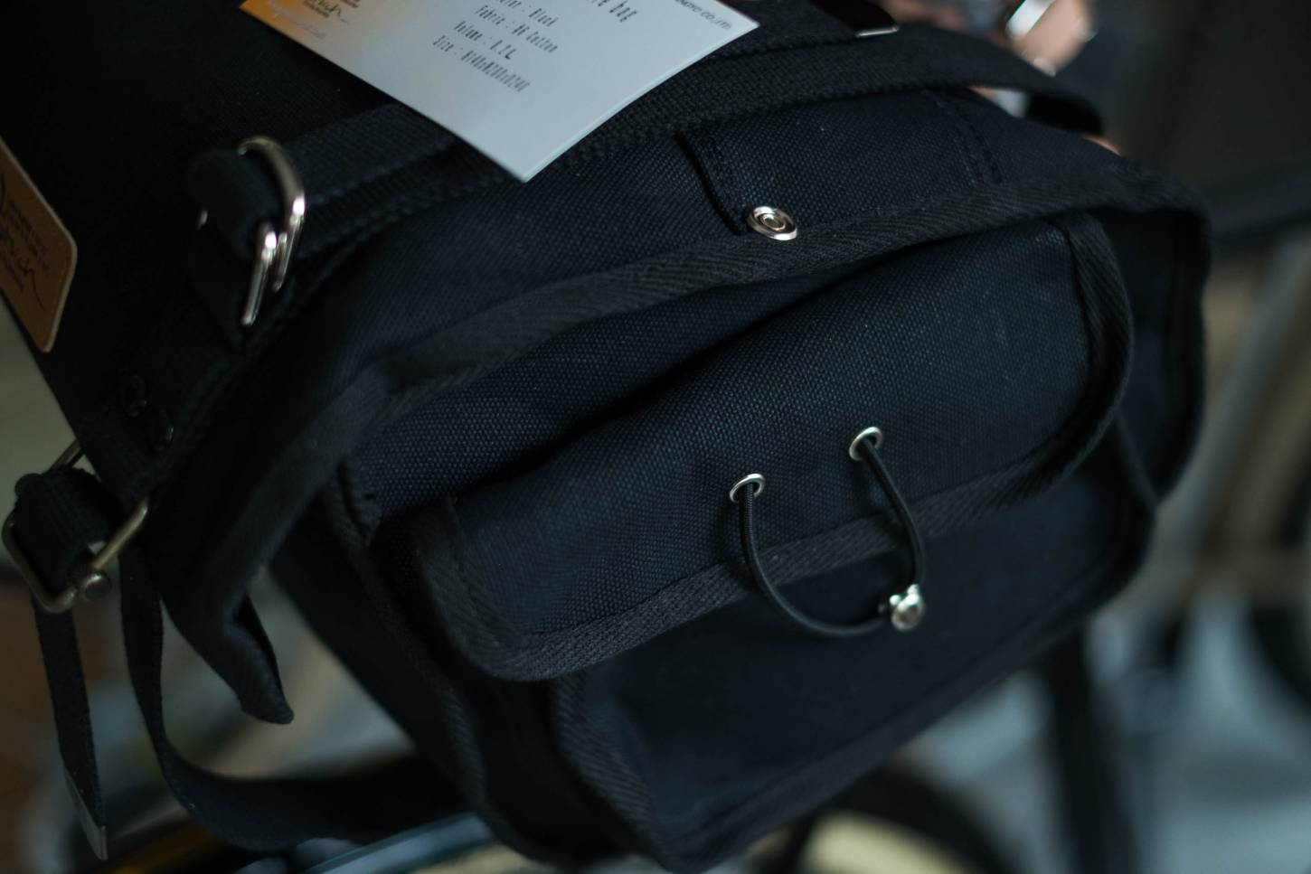 OSTRICH Saddle Bag S-2 saddle bag black