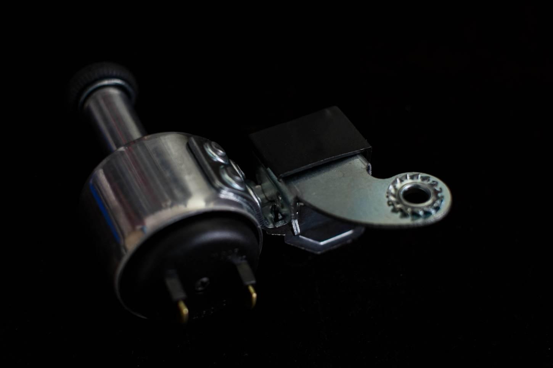 Dinamo anlun con rullo in gomma Montaggio laterale del rotore a destra o a sinistra Alu