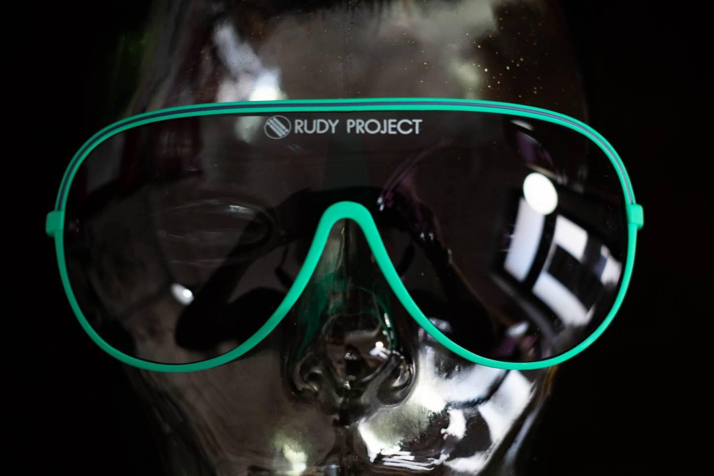 NOS Vintage Rudy Project Brille 80's L'Eroica Cycling Sunglasses-Grün