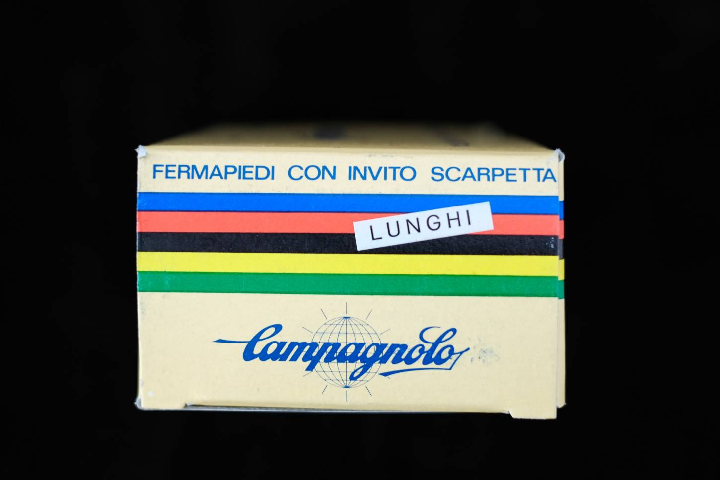 NOS Campagnolo Nuovo Record Pedalhaken Stahl L Toe Clip