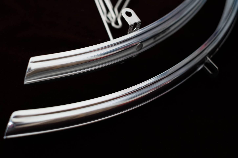 Dia-Compe ENE FR-32 Schutzbleche Aluminium hoch poliert 28 Zoll in 32mm Breite
