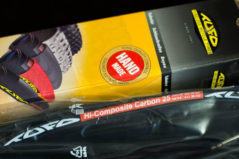 "Tufo Schlauchreifen Hi-Composite Carbon Tubular 28"" 23mm + 25 mm black/black"