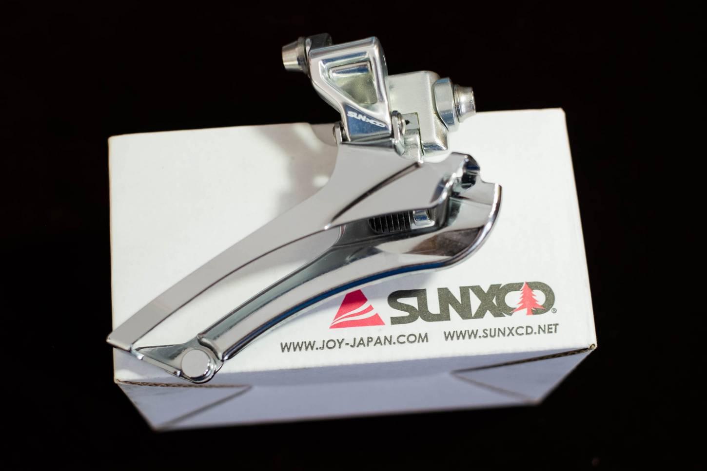 SUNXCD Touring Umwerfer Front derailleur für 9-10 Fach 2 Fach