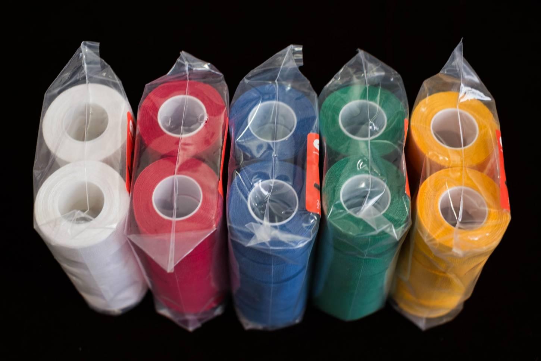 10 Stk. Velox Tressorex 85 Textil Lenkerband in grün, gelb oder dunkelblau