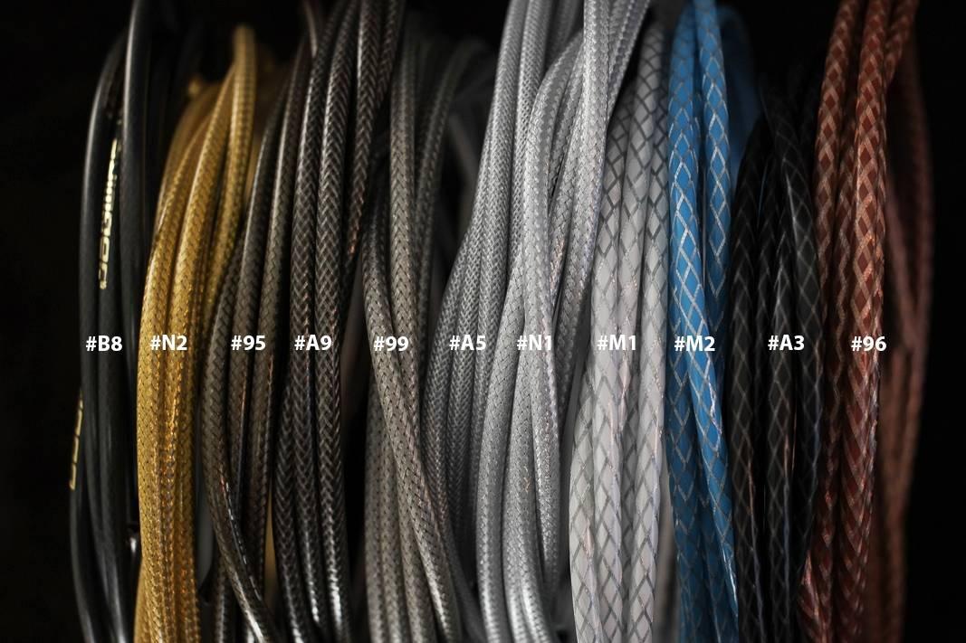 Jagwire, CGX, SL, L3, Braided Series, Farbcodes, Bremszugaußenhülle