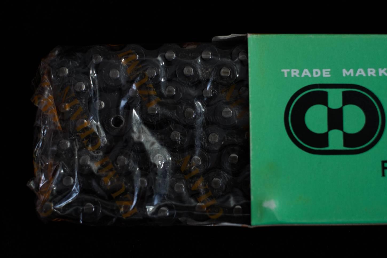 """Izumi Kette Bicycle Chain 1/2 x 3/32"""" x 116 black für 5-6 Fach Vintage Rennrad"""