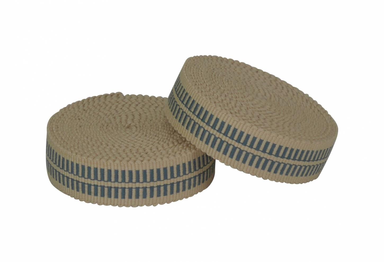Samurai Bar Tape Lenkerband in hellblau/beige 100% Cotton Made in Japan Top Quality Unique