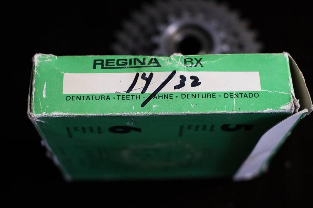 """6 scomparti NOS Regina BX anello a vite """"ruota libera"""" 14 - 32"""