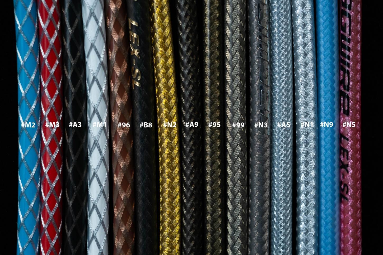 """Farbcodes, Jagwire L3 LEX - SL """"Braided Series"""" Schaltzugaussenhülle Durchmesser 4,5 mm"""
