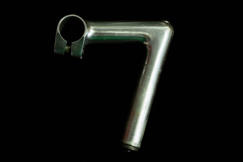 "Cinelli 1A Vorbau 1"" Schaft Aluminium 100mm 26.4 mm Milano Logo Stem Vintage Rennrad"