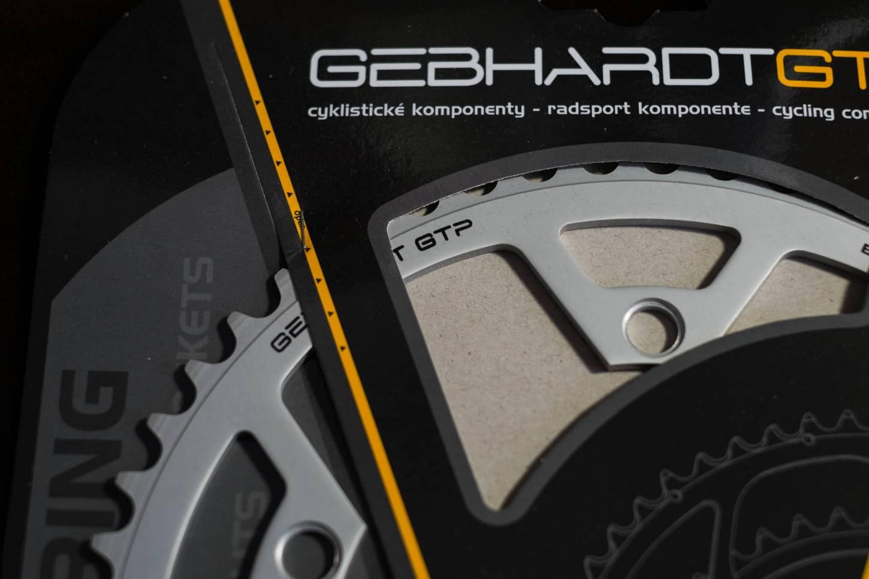 Gebhardt Classic Kettenblätter LK 135 silber + schwarz 39 - 53 Zähne Chainrings, Schöne Kettenblätter in sehr guter Qualität, perfekt für Ihren Renner
