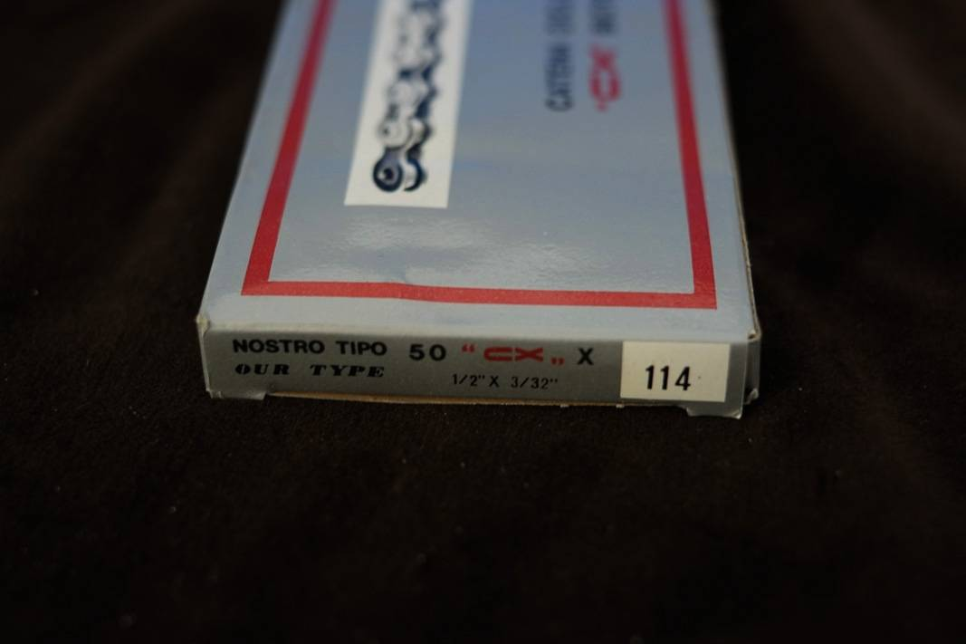 "Catena NOS Regina Extra CX ""Bicycle Chain"" + 1/2"" x 3/32"" + 114 maglie"