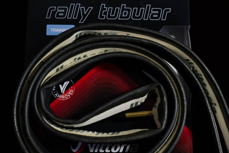 """Vittoria Rally Competition Schlauchreifen 28"""" 23-25mm black-beige Tubular Reifen"""