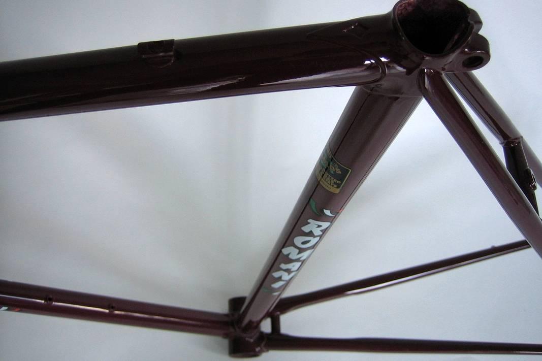 "Seltener NOS Romani Rahmen ""Reynolds 531"" Rohrsatz"