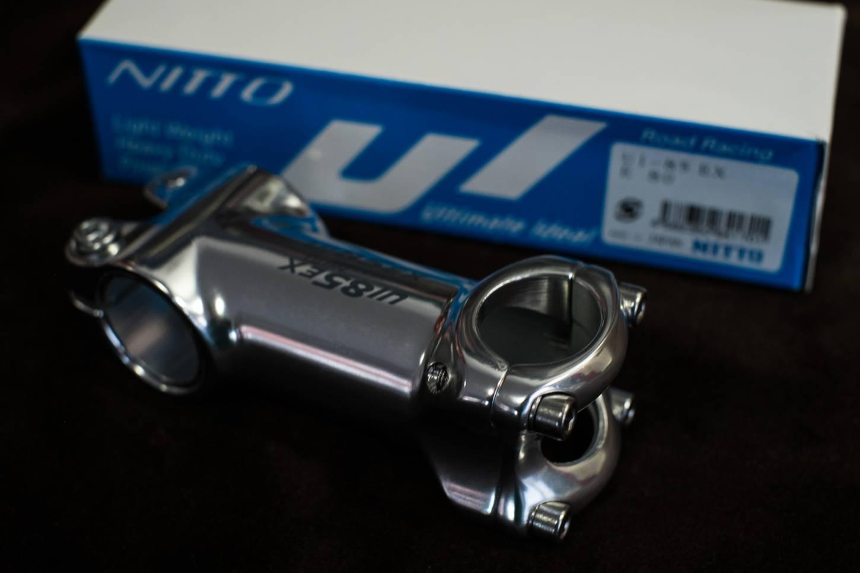 Nitto, UI-85 EX, Stem, A-Head, Vorbau, 26,0 mm, Klemmug, Randonneur