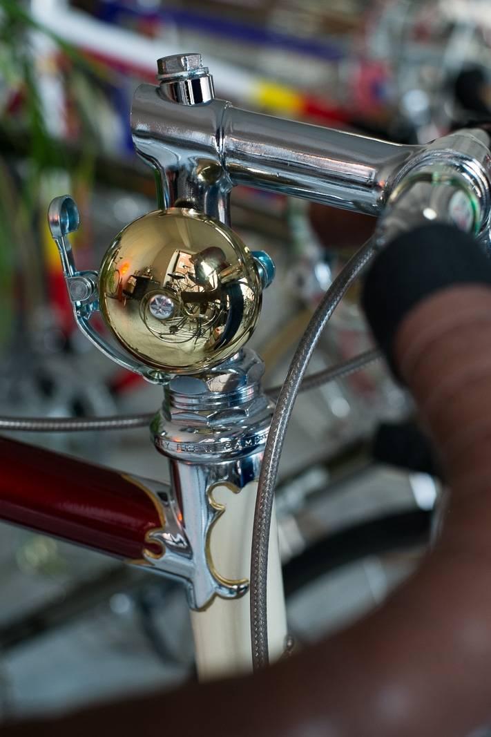 Messing Glocke Klingel Rennrad Retro / Fahrrad Klingel - super Edel