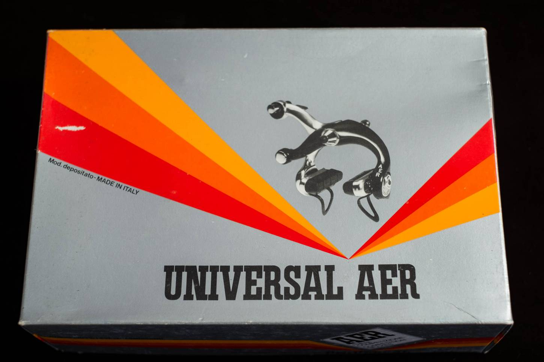 NOS Universal AER Bremsen Set + Bremshebel Vintage NIB Rennrad 1980's