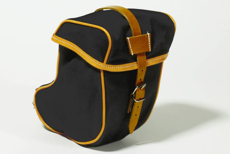 Gilles Berthoud 786BKF Satteltasche Gepäcktasche Saddle Bag schwarz