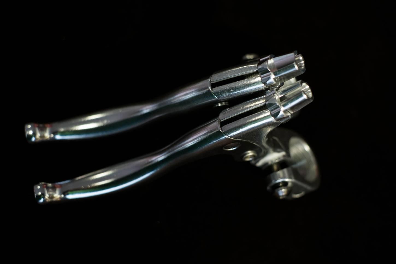 Tektro FL 540, Bremshebel, Set, Canti, Seitenzugbremsen, 22,2 mm silber