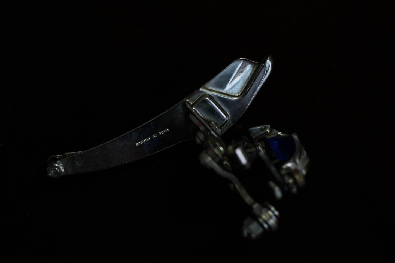 Huret Success CPSC Umwerfer Front Derailleur 3 Fach mit Schelle 28.6 mm Vintage Rennrad