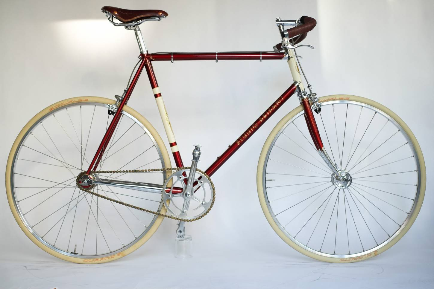 Studio Brisant, Singlespeed Bike, NOS Campagnolo Nuovo Record, H Plus Son, TB14, Brooks Swift,