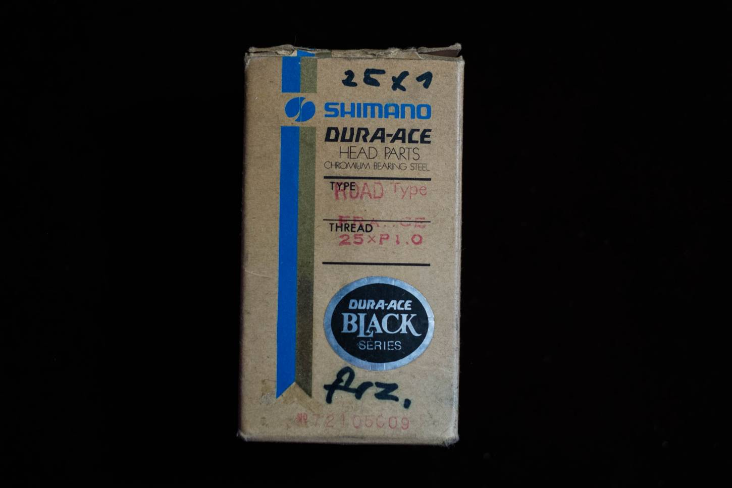 NOS Shimano Dura Ace Headset UA-100 black Headset First Gen. french 25x1mm Vintage