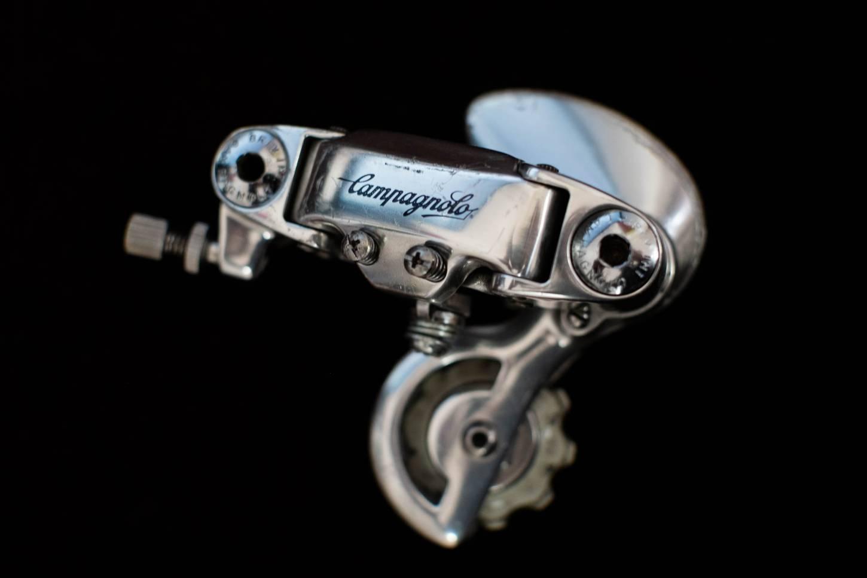 Campagnolo C-Record Schaltwerk 2. Generation 8-fach Vintage