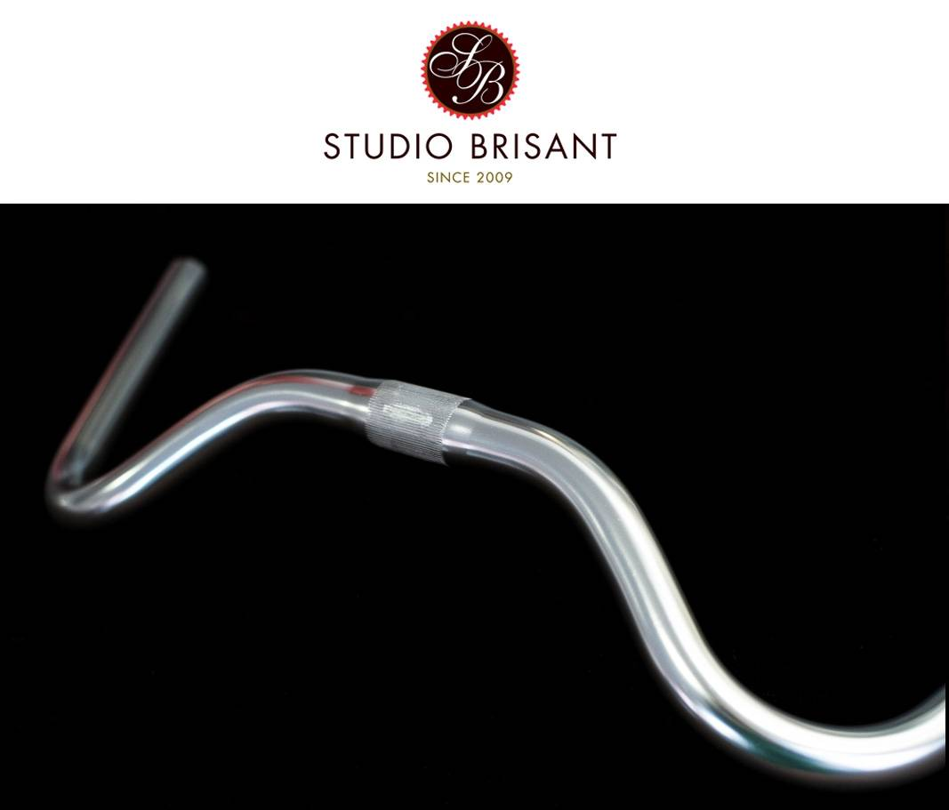 NITTO, B302 AA, North Road, Moustache, Handlebar, Lenker, Silver, 25,4 mm, Klemmung
