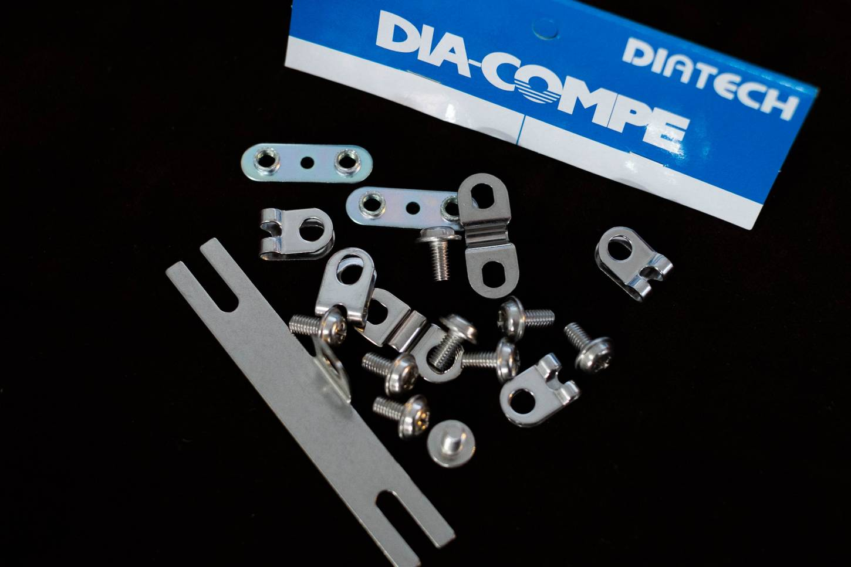 Dia-Compe ENE Schutzblech Montageset für F1 / F2 Bleche