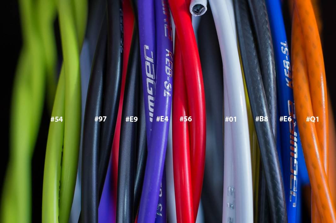 Jagwire KEB - SL Kevlar *Reinforced Series* Bremszugaußenhülle, Farbcodes, 5mm