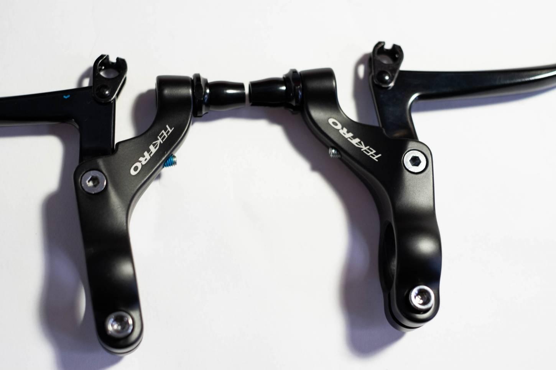 Tektro Bremshebel CL-740 Set für V-Brakes 22,2 mm silber oder schwarz 1 Paar
