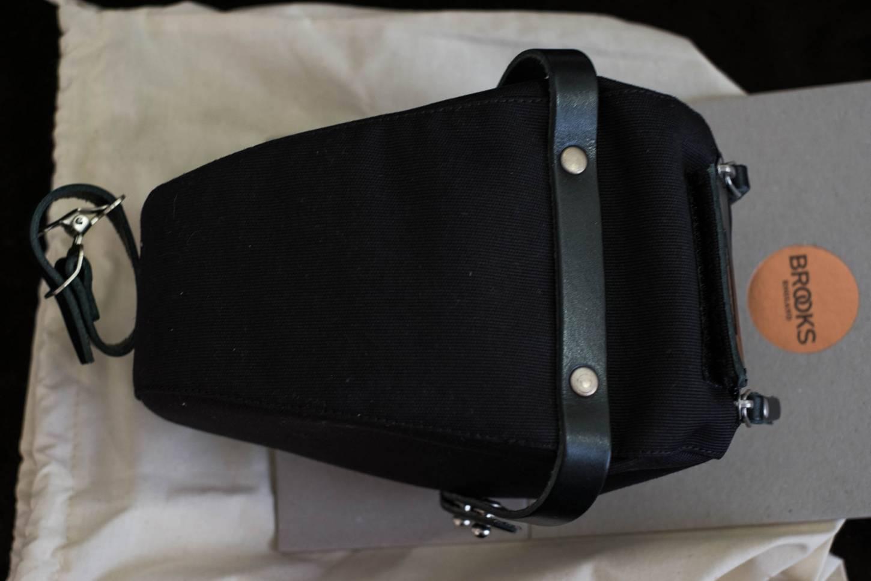 Brooks Satteltasche Isle of Wight black Saddle Bag Small + Medium + Large