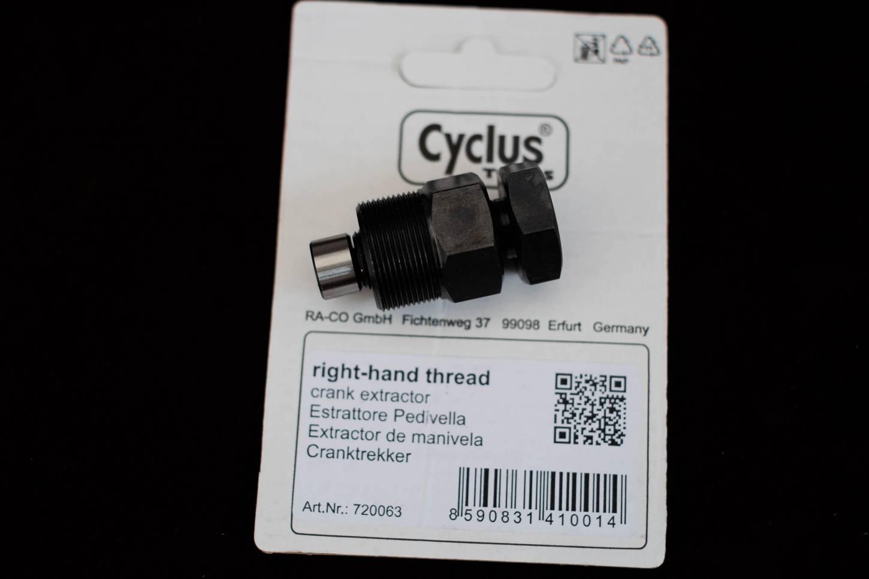 Cyclus Tools Estrattore di manovelle per pedivelle quadrate 4 cuscinetti quadrati