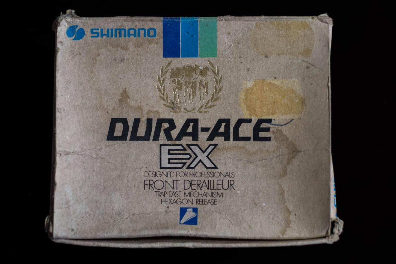NOS Shimano Dura Ace EX Umwerfer Front Derailleur FD-7200 mit Schelle 28.6 NIB Vintage Rennrad