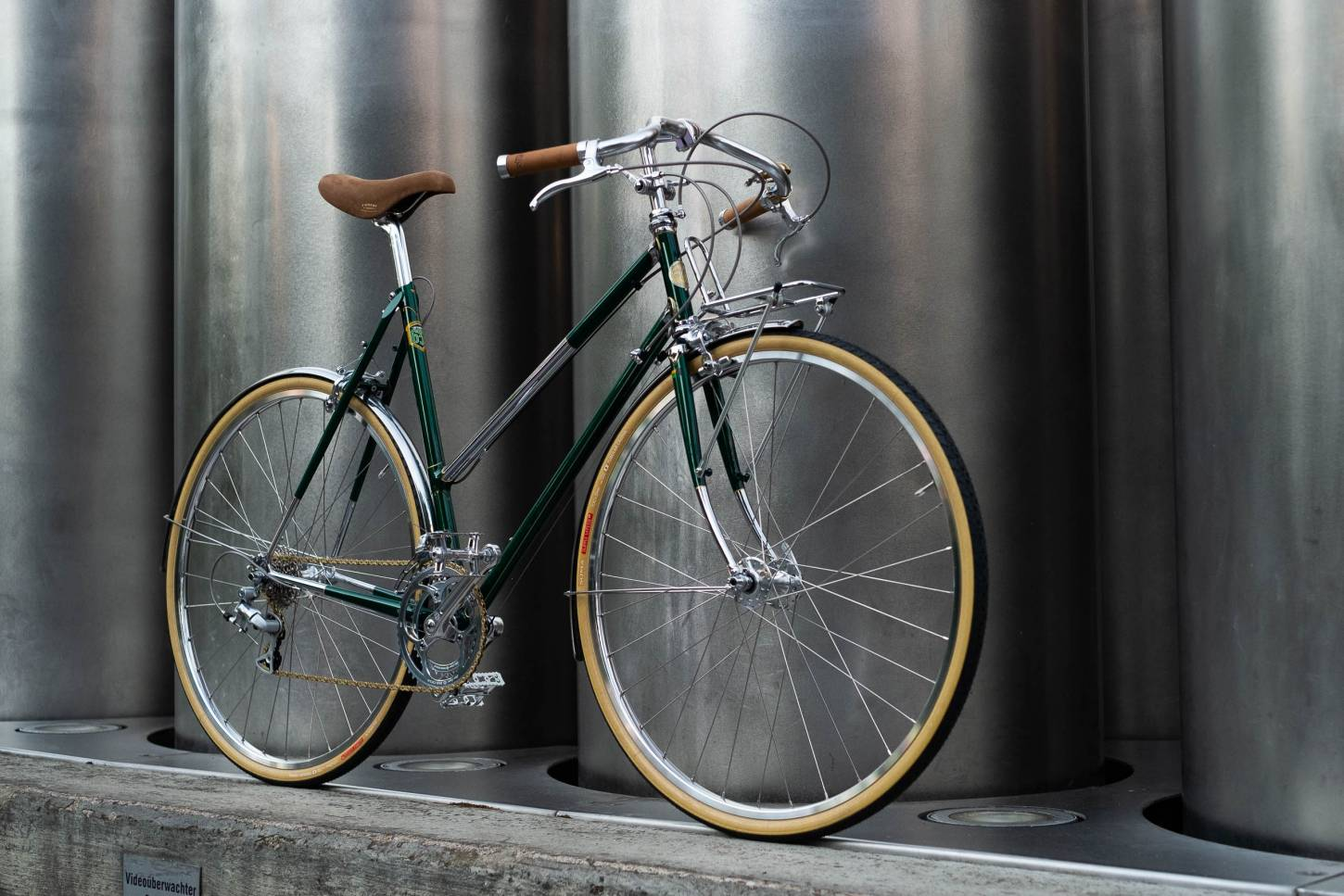 Damen Randonneur, Rennrad, in British Racing Green