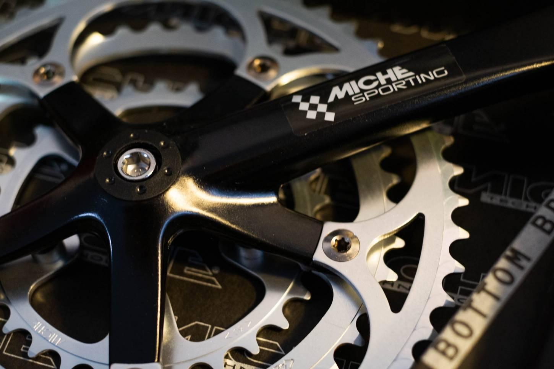 MICHE Sporting Kurbelsatz 3 fach, 52, 42, 32 Zähne, 170 mm, Rennrad, Touring