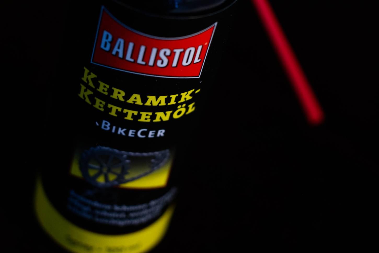 Ballistol Keramik Kettenöl 100 ml Spraydose BikeCer Rennrad