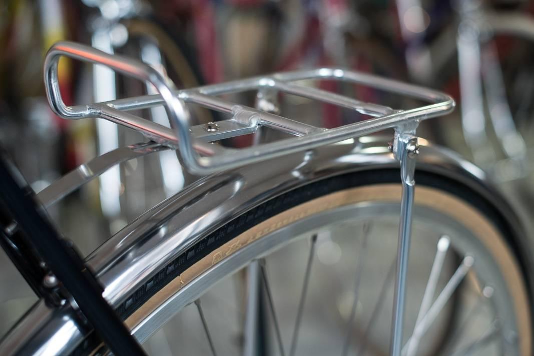 Front Rack VR Gepäckträger Aluminium in silber eloxiert Singlespeed + Stadtrad
