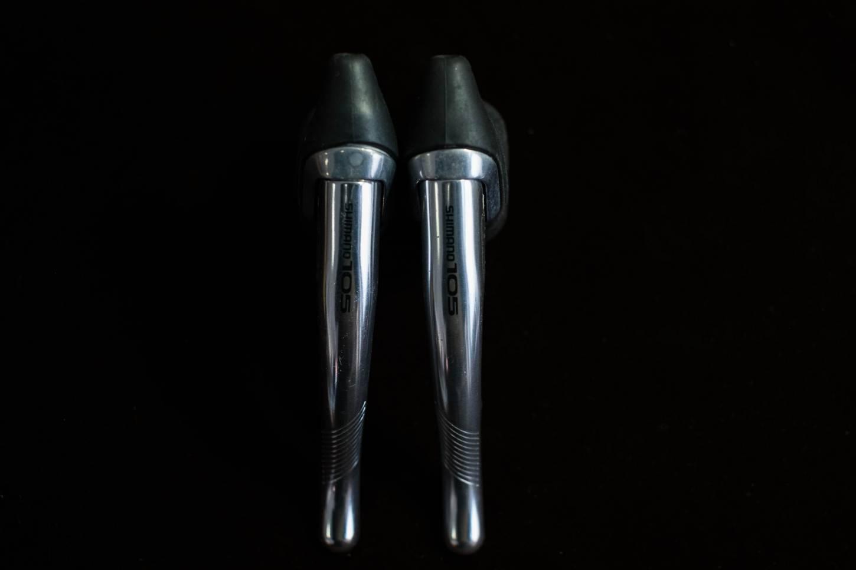 NOS Shimano SLR 105 Bremshebel Brake Levers Set BL-1050 Aluminium Vintage Rennrad